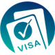 VisaEase logo